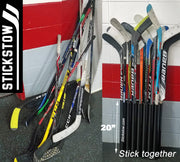 """The Original"" Hockey Stick Holder Rack Organizer (15) Sticks Portable - Stickstow.com"