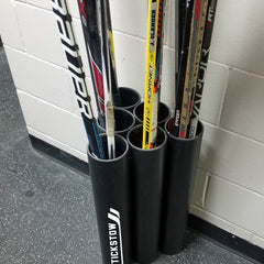 """The Pro"" Hockey Stick Holder Rack Organizer (15-25) Sticks Stickstow - Stickstow.com"