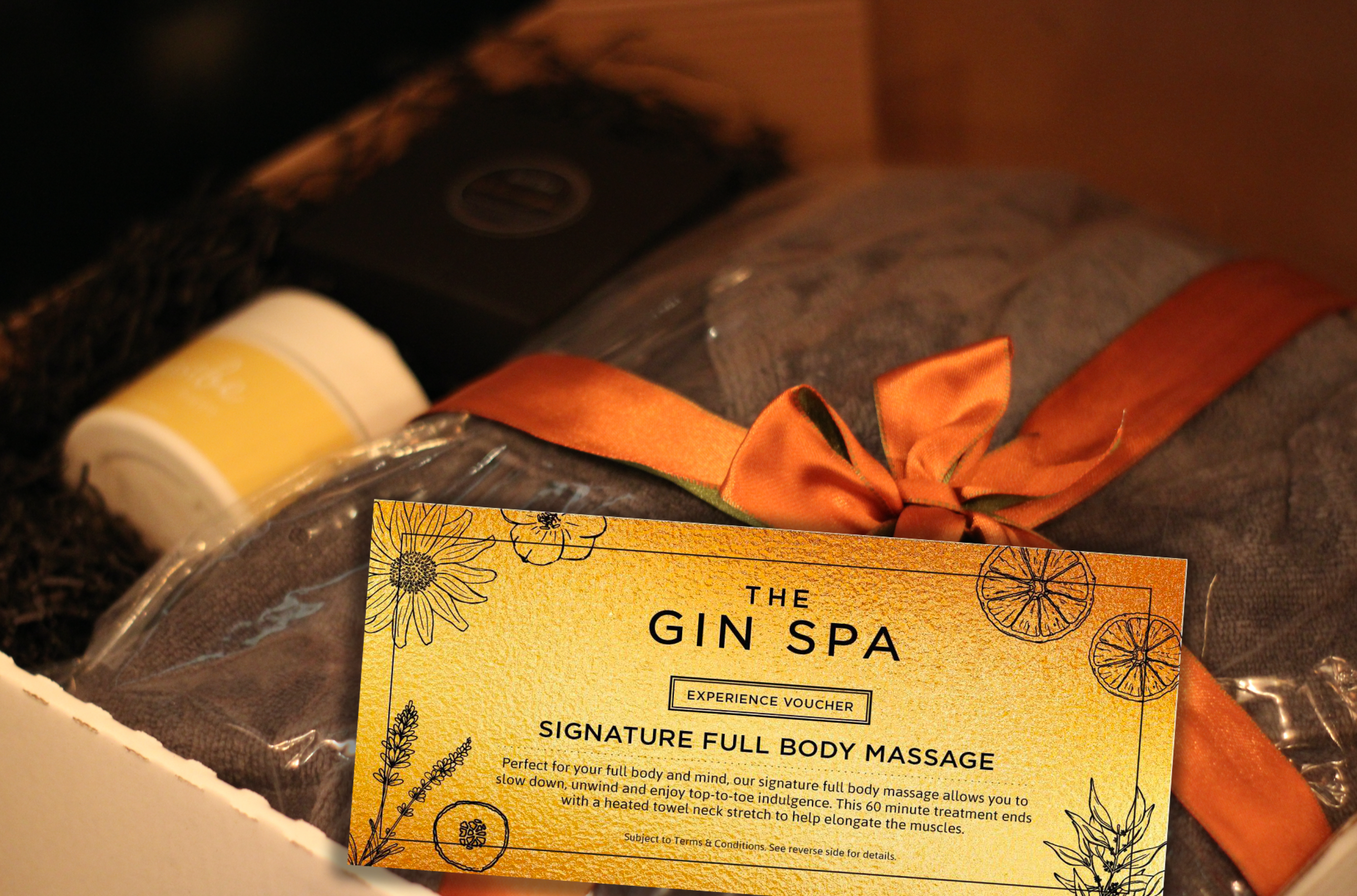 Gin Spa Experience Gifting - Body