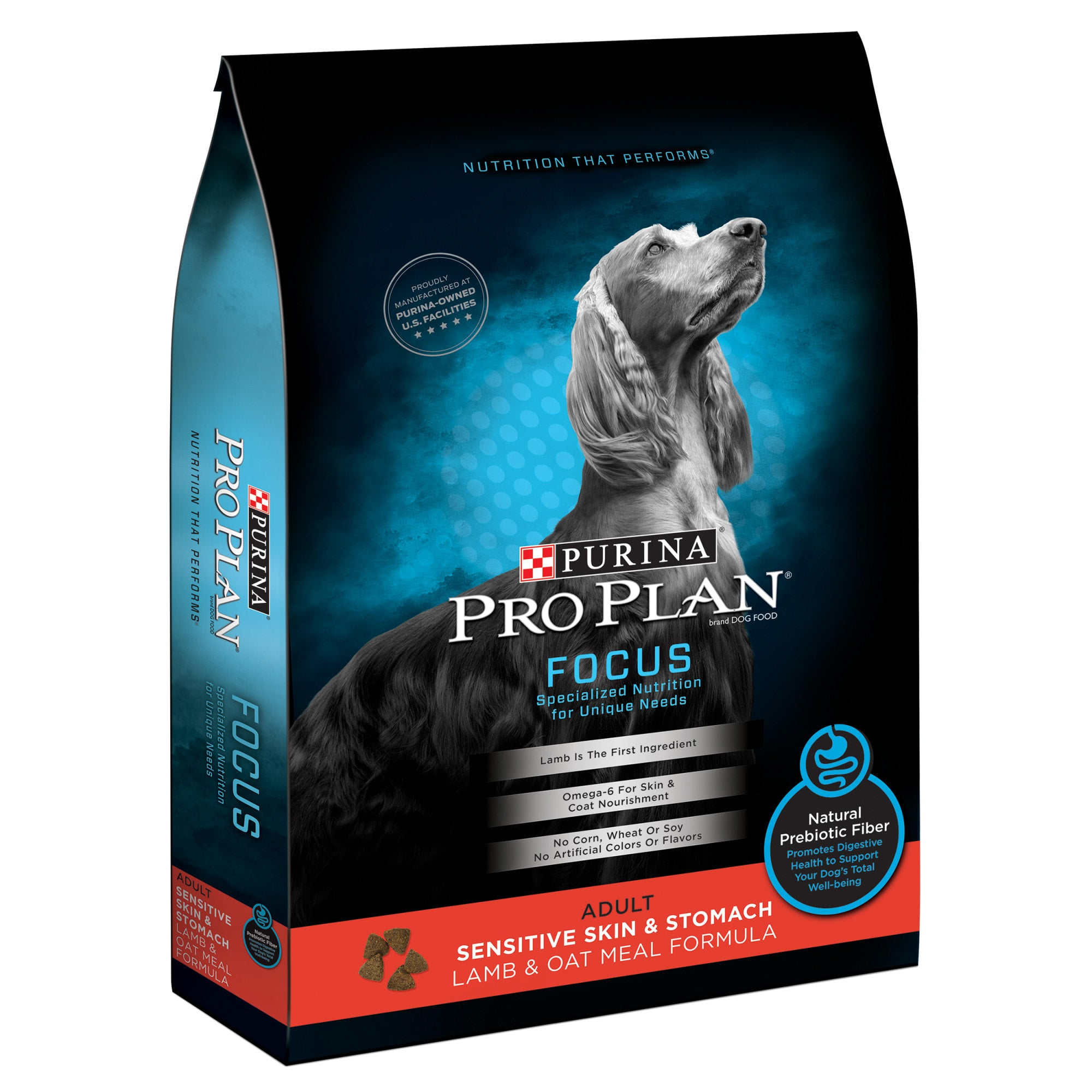 Pro Plan FOCUS Adult Sensitive Skin & Stomach Lamb & Oat Meal Formula Dry Dog Food