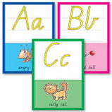 26 A4 Size Alphabet Wall Cards