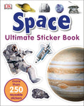 Space sticker activity book