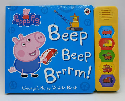 Beep Beep Brrrm! George's Noisy Vehicle Book