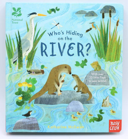 National Trust: Who's Hiding on the River?   (Board book)