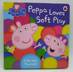 Peppa loves soft play (board book)