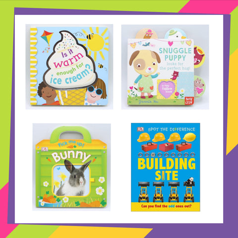 Super saver board books bundle