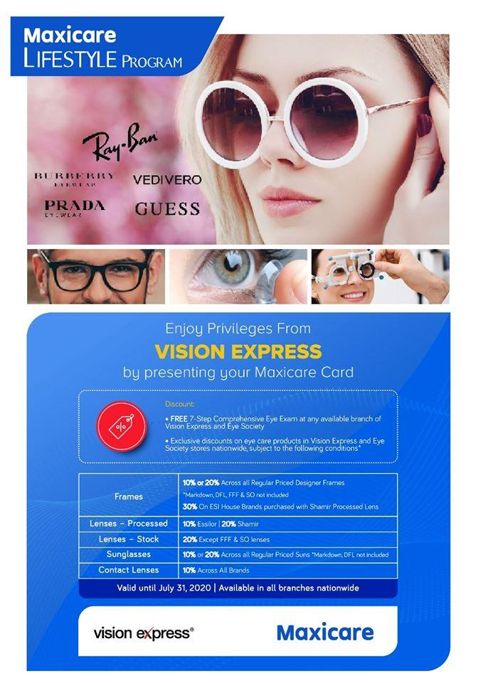 Maxi Care x Vision Express Partnership - Vision Express Philippines