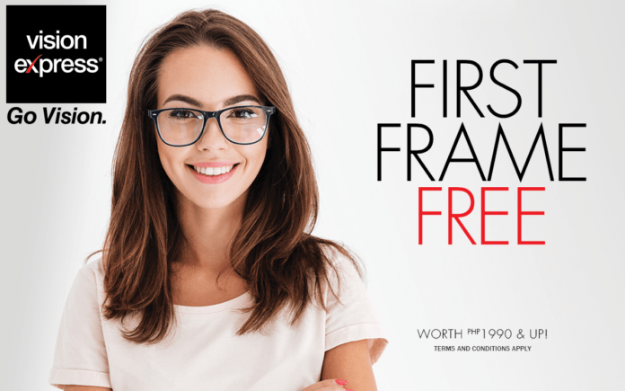 Your First Frame Free at Vision Express - Vision Express Philippines