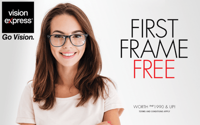 Your First Frame Free at Vision Express