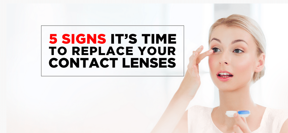 5 Signs It's Time to Replace Your Contact Lenses - Vision Express Philippines