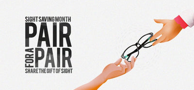 Share the Gift of Sight with Pair for a Pair