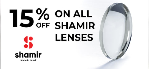 15% off on all Shamir lenses - Vision Express Corporate Exclusive Offer