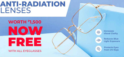 FREE Anti-Radiation LENSES