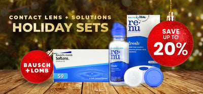 CONTACT LENS & SOLUTIONS HOLIDAY SETS