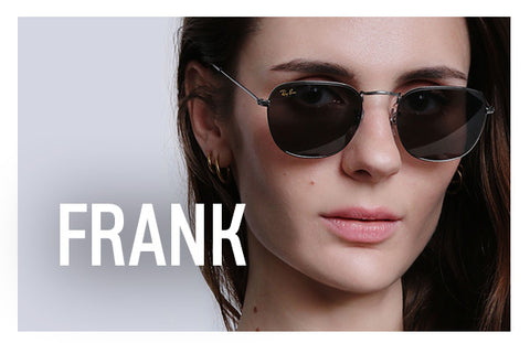 Limited Edition Ray-Ban Frank in Gun Metal