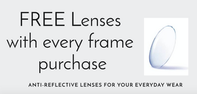 10% off + Free Lenses