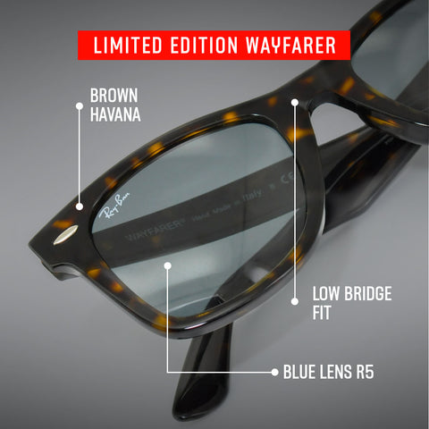 Limited Edition Ray-Ban Havana Wayfarer with Details