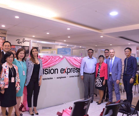 CEU Donation From Vision Express Optical Philippines