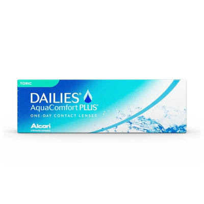 DAILIES®  Aquacomfort Plus® Toric Contact Lenses 30 pcs - Vision Express Philippines