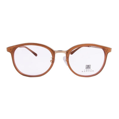 Tony Morgan London TM KG19078/LT BRN | Eyeglasses with FREE Blue Safe Anti Radiation Lenses - Vision Express Philippines
