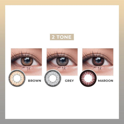 Maxi Eyes 2 Tone Natural Series - Vision Express Optical Philippines