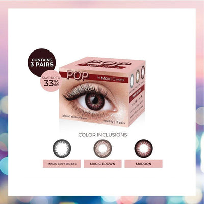 Maxi Eyes POP Trio Pack - Vision Express Optical Philippines