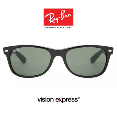 Ray-Ban New Wayfarer Classic Low Bridge Fit RB2132F/901/58 | Sunglasses - Vision Express Optical Philippines