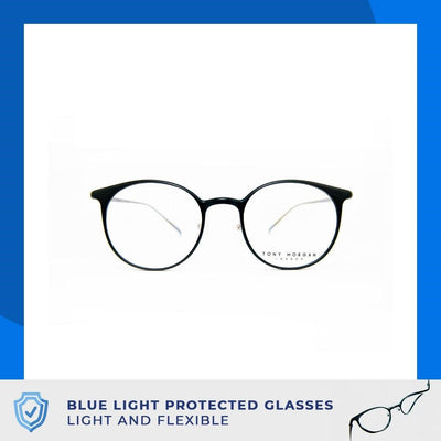 Tony Morgan London TM 1002/001M | Computer Eyeglasses with Air Flex Technology - Vision Express Optical Philippines