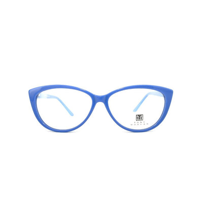 Tony Morgan London TM RT-005/C3 | Eyeglasses with FREE Blue Safe Anti Radiation Lenses - Vision Express Optical Philippines