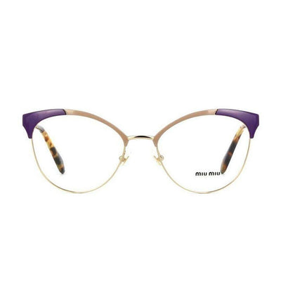 Miu Miu VMU50P/USO/1O1 | Eyeglasses with FREE Blue Safe Anti Radiation Lenses - Vision Express Philippines