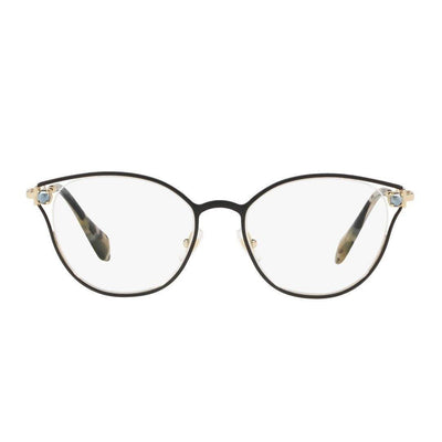 Miu Miu VMU53Q/1AB/1O1 | Eyeglasses with FREE Blue Safe Anti Radiation Lenses - Vision Express Philippines