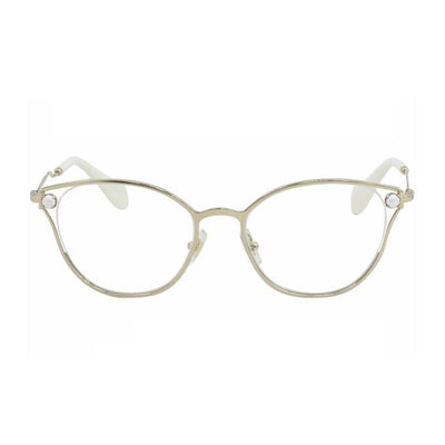 Miu Miu VMU53Q/ZVN/1O1 | Eyeglasses with FREE Blue Safe Anti Radiation Lenses - Vision Express Philippines