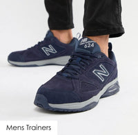 Mens Wide Trainers