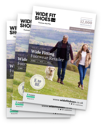 wide fit shoes - health