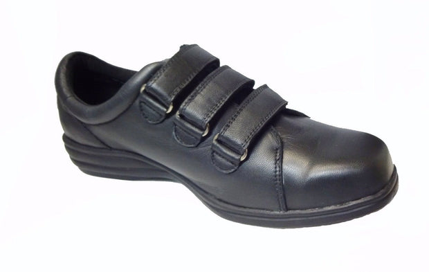 Womens Wide Soft 3 Velcro Strap Shoes|collection_image
