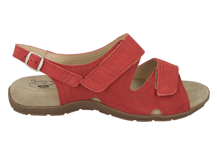 Womens Wide Fit DB Hero Sandals