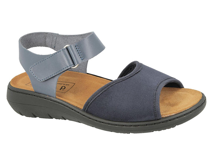 Womens Wide Fit DB Mary Sandals