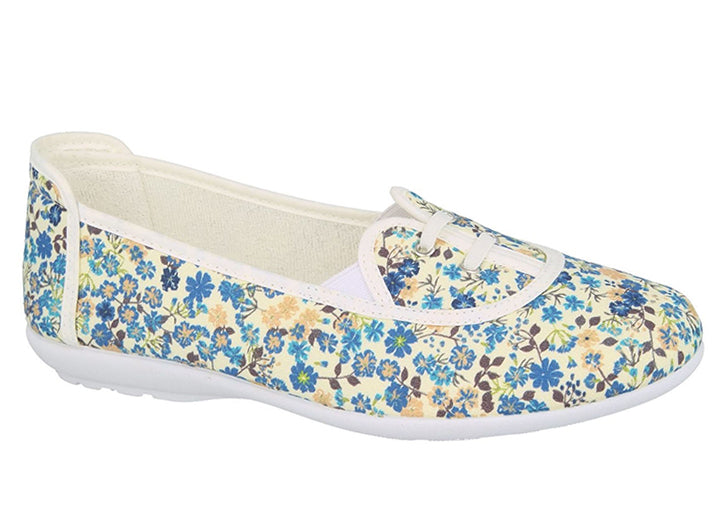 Womens Wide Fit DB Parsley Canvas Shoes