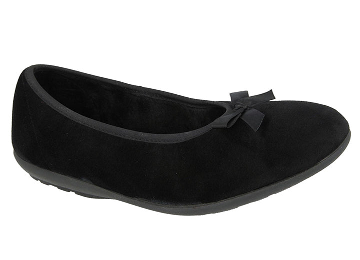 Womens Wide Fit DB Thetford Slippers