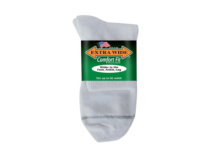 Mens Extra Wide 7500 Comfort Fit Anklet Socks