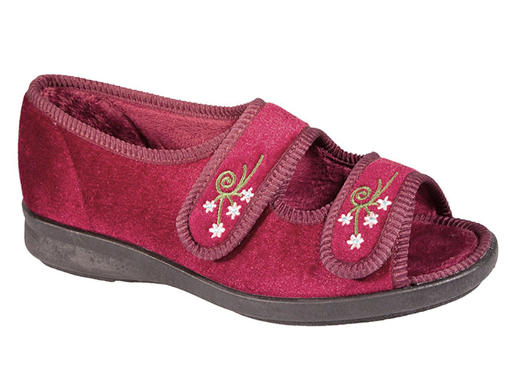 Womens Wide Fit DB Ace Slippers