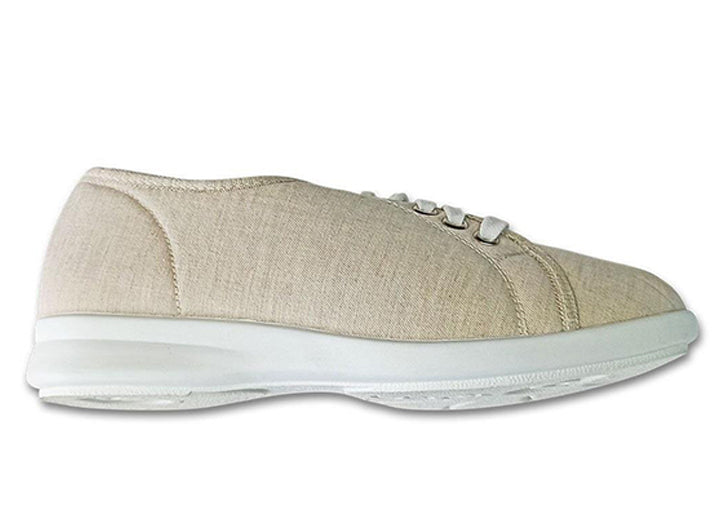 Womens Wide Fit DB Anthea Canvas Shoes