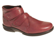 Womens Wide Fit DB Bradwell Red Boots