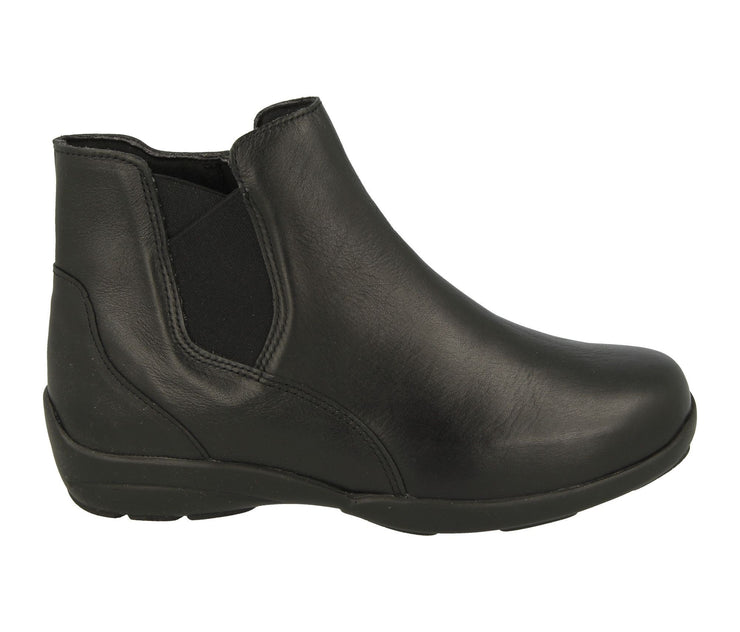 Womens Wide Fit DB Chloe Leather Boots