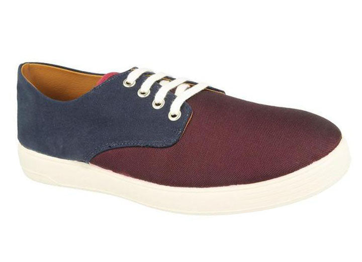 Mens Wide Fit DB Declan Canvas