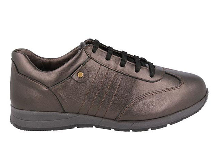 Womens Wide Fit DB Fareham Canvas Shoes