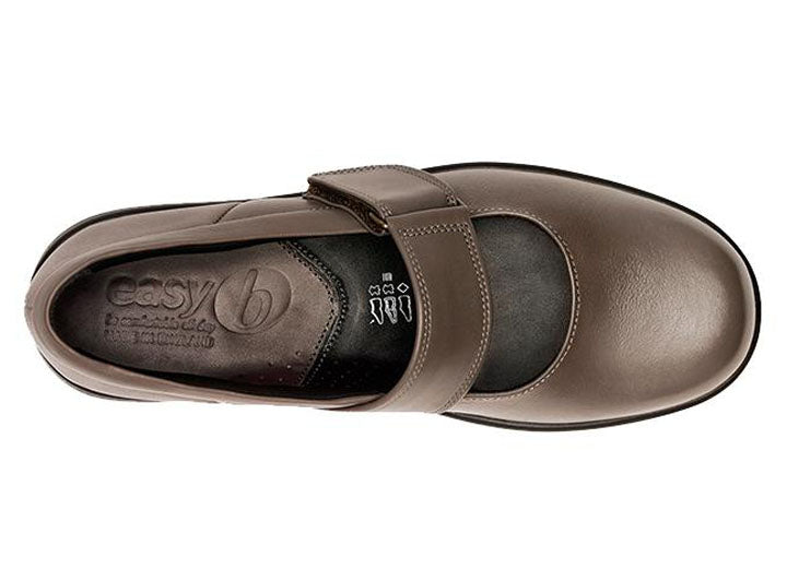 Womens Wide Fit DB Florence Shoes - Espresso