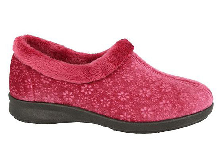 Womens Wide Fit DB Frimley Slippers