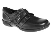 Womens Wide Fit DB Healey Shoes - Black