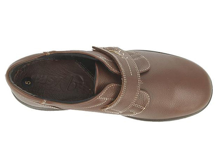 Womens Wide Fit DB Healey Shoes - Chestnut